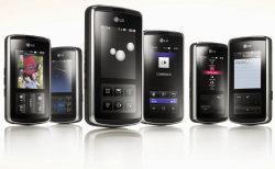 LG KF600 mobile phone family