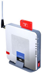 LinkSys WRT54G3G wireless gateway router with integrated 3G mobile internet