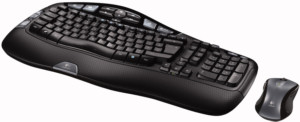 Logitech Desktop Wave keyboard and mouse