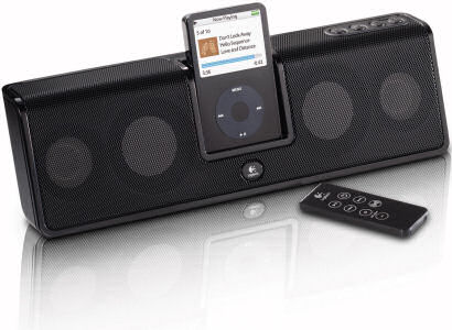 Logitech MM50 iPod speaker system
