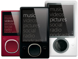 Microsoft's Zune product family