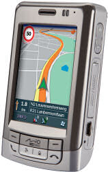 Mio A501 GPS phone combination