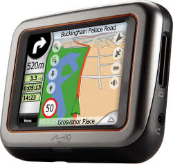 Mio C220 GPS Satellite Navigation Unit