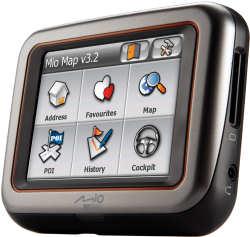 Mio DigiWalker C220 GPS SatNav system