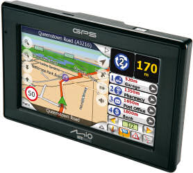 Mio C320 Satellite Navigation Unit