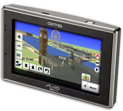 Mio C620 Satellite Navigation Device