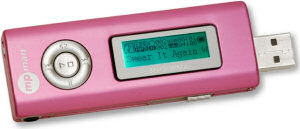MPMan MPF-62 Pink MP3 Music Player