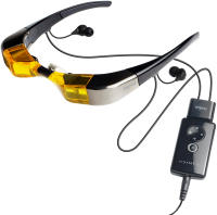 MyVu Crystal iPod Video Glasses