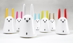 Nabaztag WiFi Rabbit - Group Picture