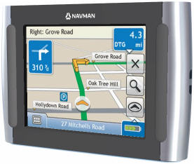 Navman S30 GPS Satellite Navigation unit