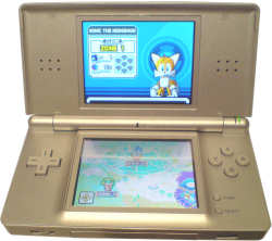Nintendo DS Lite in Silver