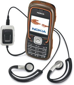 Nokia 5500 Sport mobile phone