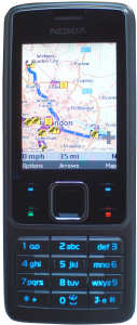 ActivePilot 6 application on Nokia 6300