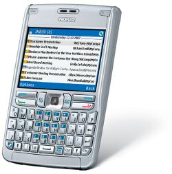 Nokia E61 3G mobile phone