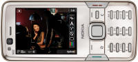 Nokia N82 showing movie