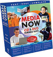 Nova MediaNow DVD/CD writing suite