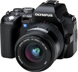 review : olympus e 500 digital slr camera