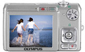 Olympus FE-250 digital camera - read view