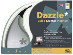 Pinnacle Dazzle Platinum - packaging