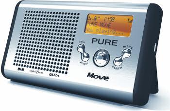 Pure Move - Portable DAB/FM radio
