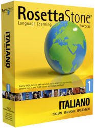 Rosetta-Stone Italian Course - image of box