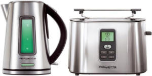 Rowenta Prelude toaster and kettle