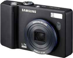 Samsung L74 wide compact digital camera