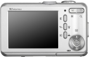 Samsung S1030 Compact Digital Camera - Rear view