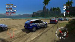 SEGA Rally Desert stage