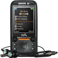 Sony-Ericsson W850i mobile phone - closed