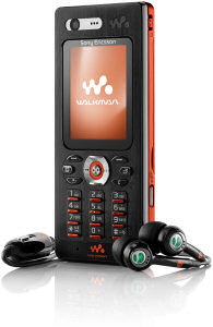 Sony Ericsson W880i mobile phone