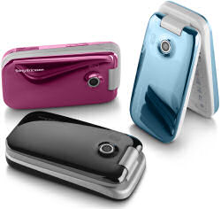 Sony Ericsson z610i in a range of colours