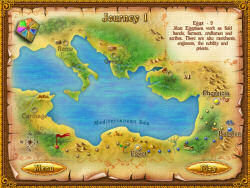 Map of journey 1