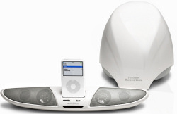 TwinMos Boom-1 iPod speaker/docking system