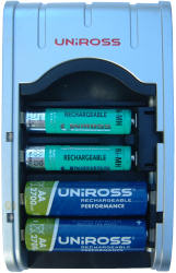 Closeup - Uniross 1 hour fast charger
