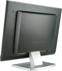 V7 flat panel LCD monitor - rear view