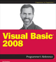 WROX Visual Basic 2008 - programmer to programmer